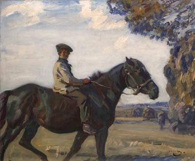 Sir Alfred Munnings, P.R.A. (1