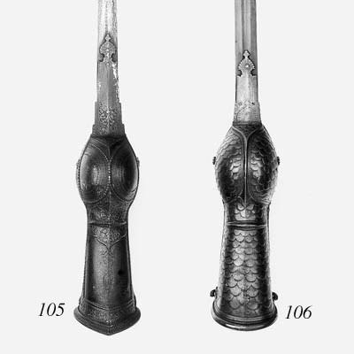 An Indian Gauntlet Sword (Pata