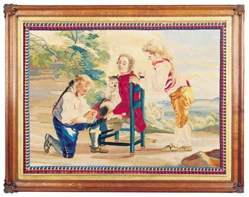 A SPANISH PASTORAL TAPESTRY