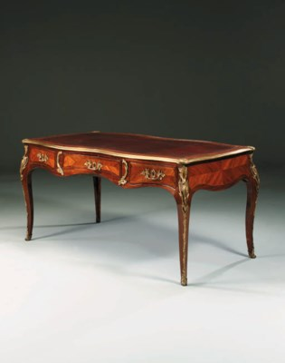 A LOUIS XV ORMOLU-MOUNTED TULI