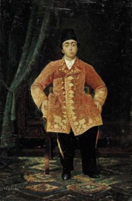 Portrait of Crown Prince Mozaf