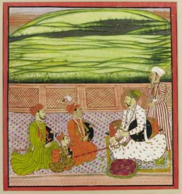 Prince Himranraj of Orcha