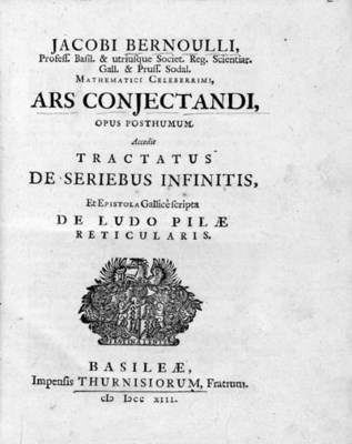 BERNOULLI, Jakob I (1654-1705)