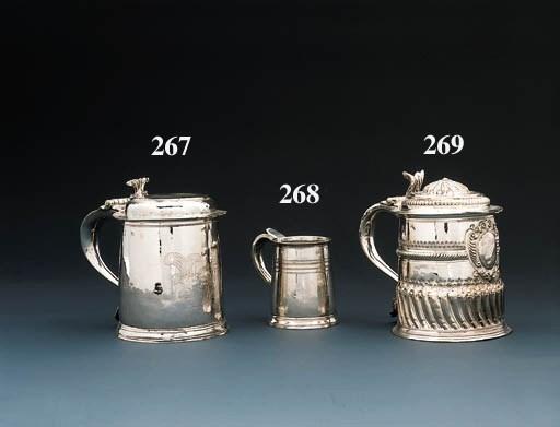 A James II silver tankard