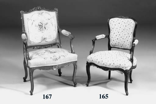 A pair of Provincial Louis XV