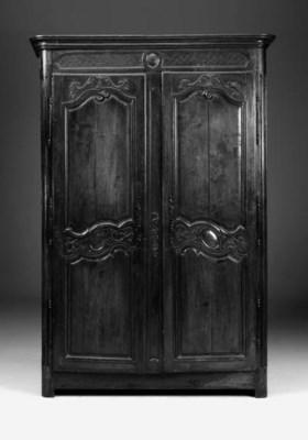 A French Provinvial oak armoir