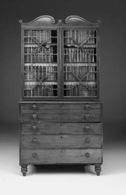 A late Regency mahogany secret