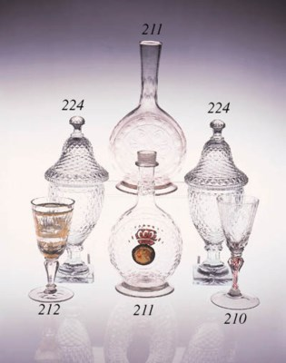 A pair of Continental urn-shap
