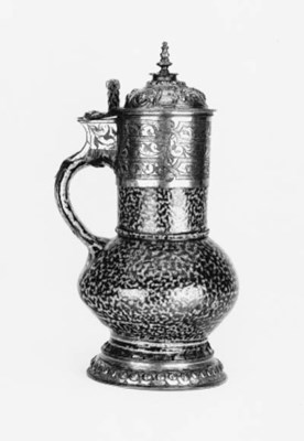 An Elizabeth I silver-gilt mou