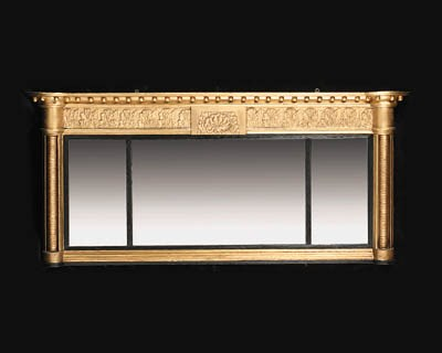A late Regency carved and gilt