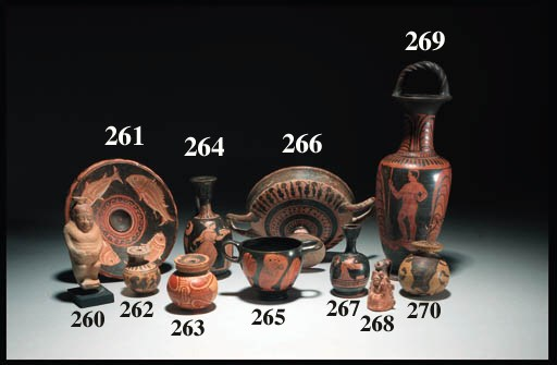 AN EAST GREEK FLASK IN THE FOR