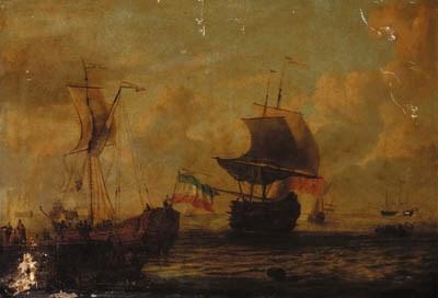 Circle of Gerrit Pompe (1655-1