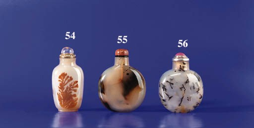 An Agate Snuff Bottle