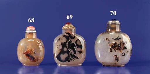 A Shadow Agate Bottle