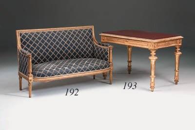 A giltwood sofa, 19th century