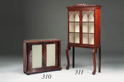 A Regency mahogany china cabin