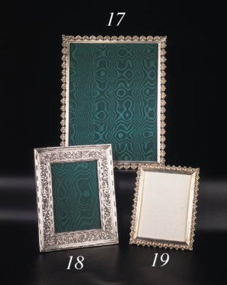 An Italian silver frame