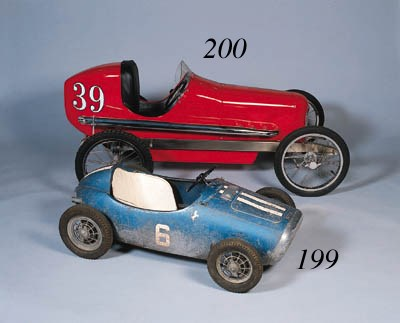 Sprint Car - A child's pedal c