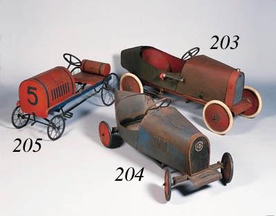 Bugatti - A child's pedal-car