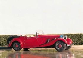 1935 MERCEDES-BENZ 500K FOUR PASSENGER TOURER