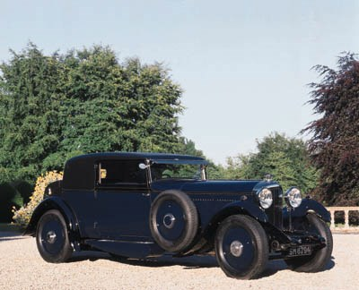1931 BENTLEY 8 LITRE FIXED-HEA