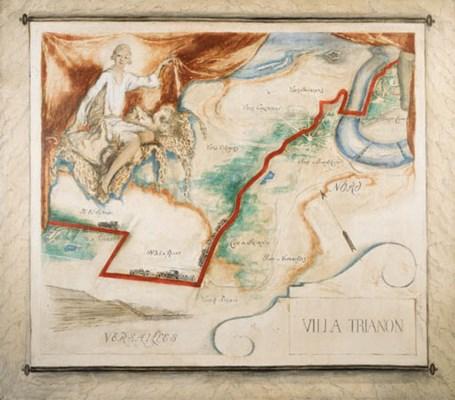 'MAP TO VERSAILLES, 'VILLA TRI