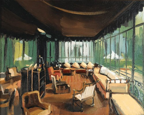 'TERRACE SUNROOM, VILLA TRIANO