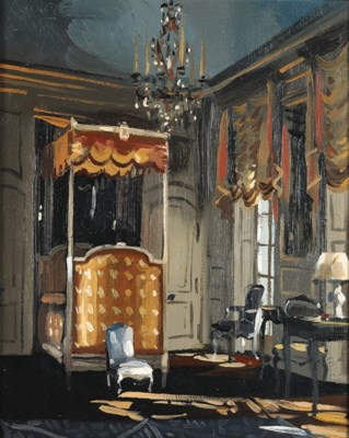 'THE STATE BEDROOM, 'VILLA TRI