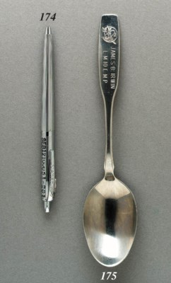 FLOWN Spoon from Apollo 15. Ap