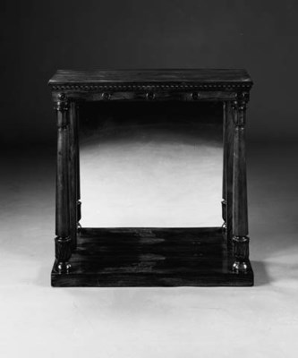 A WILLIAM IV ROSEWOOD CONSOLE