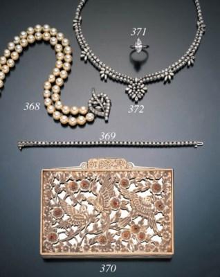 DIAMOND SWAG NECKLACE
