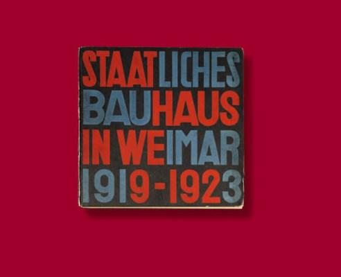 39 staatliches bauhaus in veimar 1919 1923 39 a printed book for Staatliches bauhaus