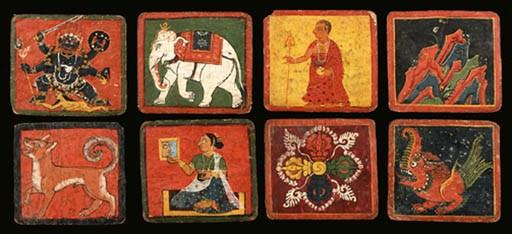A set of 151 miniature paintin