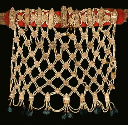 A ritual bone apron