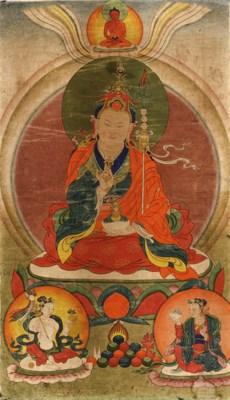 A thanka of Padmasambhava