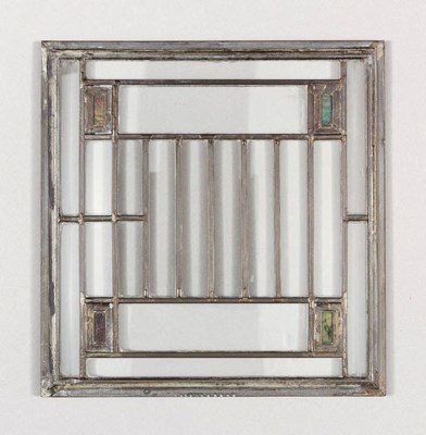 SIX LEADED GLASS WINDOWS