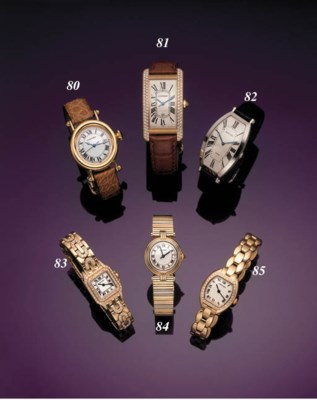 CARTIER.  A FINE 18K GOLD AND