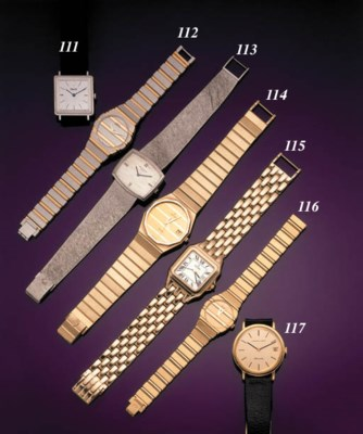 PIAGET.  AN 18K WHITE AND YELL