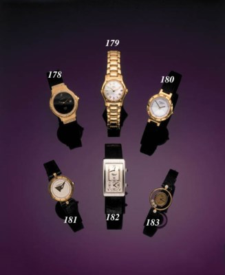 EBEL.  A LADY'S 18K GOLD AND M