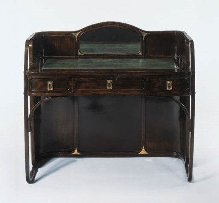 A BENTWOOD DRESSING TABLE