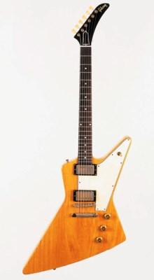 A 1958 Gibson Explorer