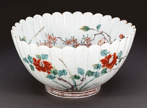 A Porcelain Chrysanthemum-Form