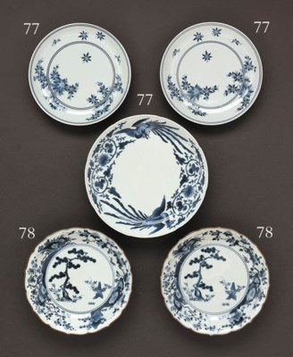 A Pair of Porcelain Dishes and