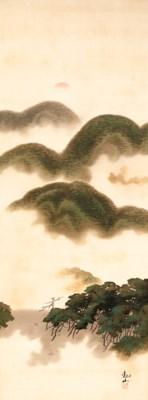 Shimomura Kanzan (1873-1930)