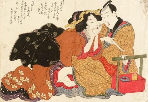 Attributed to Kikugawa Eizan (