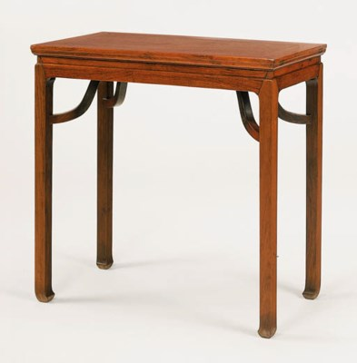 A Small Huanghuali Side Table,