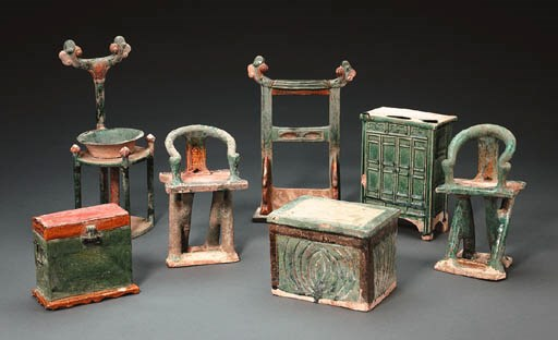 A Group of Tileworks Furniture