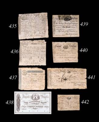 Ship Bank, 20-Shillings, Glasg