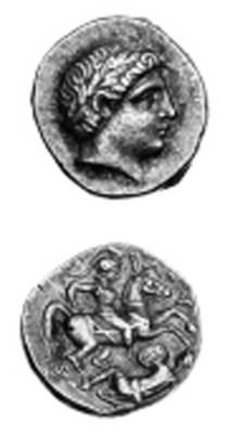 Paeonia, Patraos (c. 340-315 B