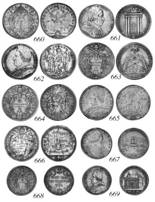 Clement XI, Piastra, 1707, Ann